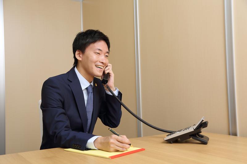 いつでも弁護士と連絡を取れます